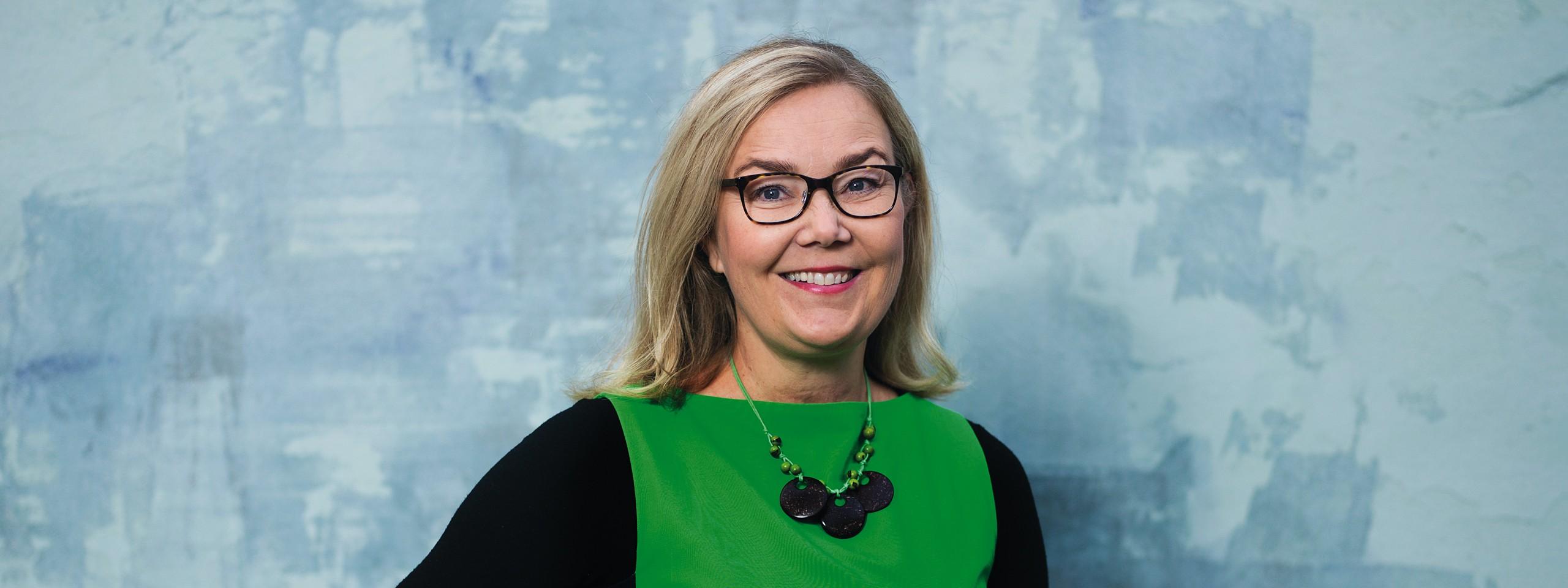 WWF:n pääsihteeri Liisa Rohweder
