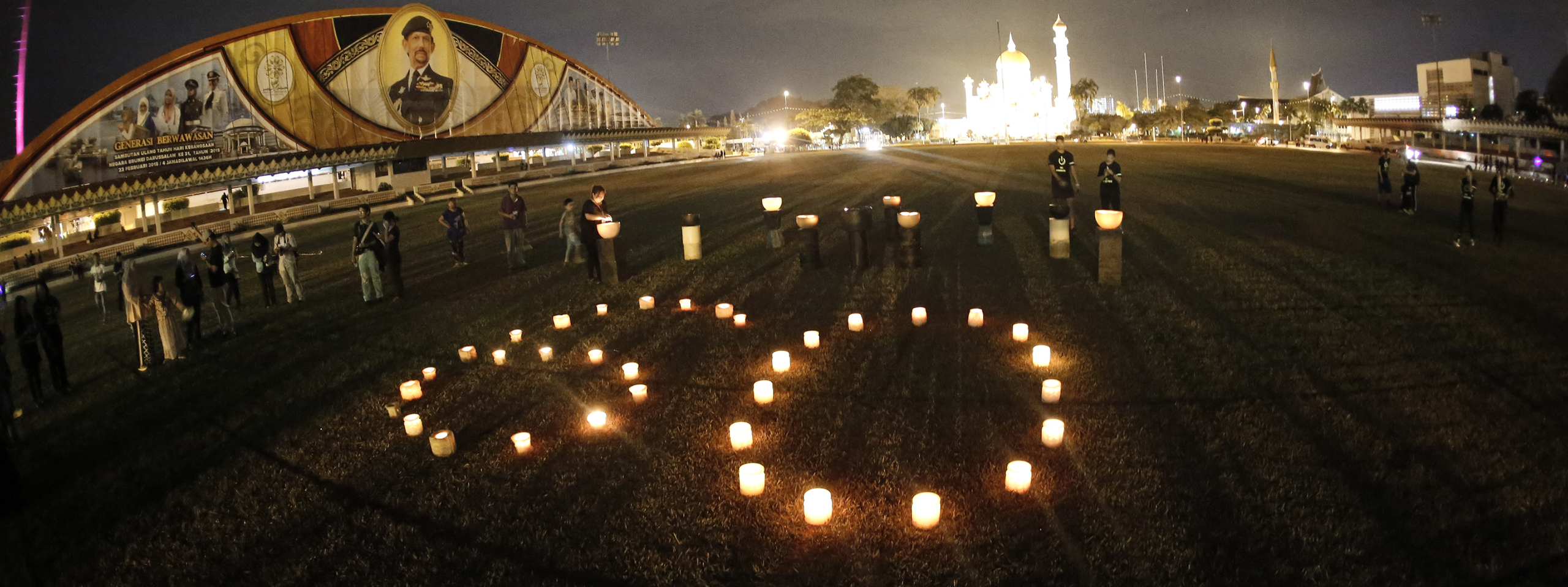 Earth Hour 2015 Brunei © Armiehuphotog.com